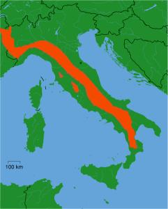 Distribution_Canis_Lupus_Italicus