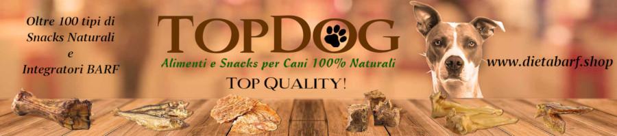 Snacks per cani con carne essiccata